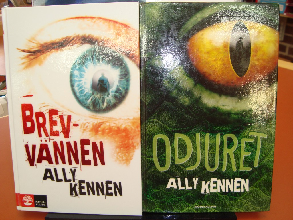 Ally Kennens böcjer