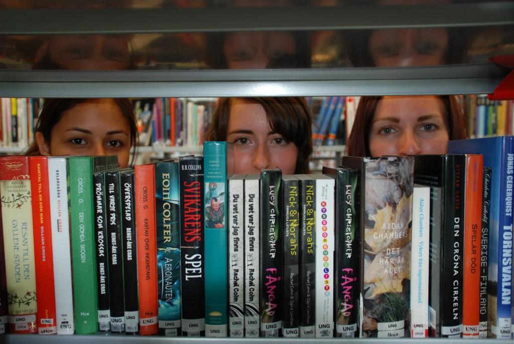 Läsargrupp på Stadsbiblioteket. Fotograf: Jessica Istenes