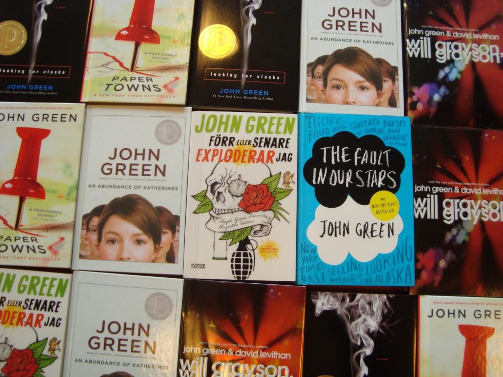 John Green nya böcker